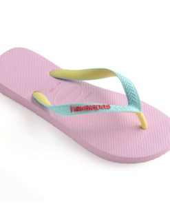 Havaianas Womens Top Mix Rose Quartz/Ice Blue Flip Flops