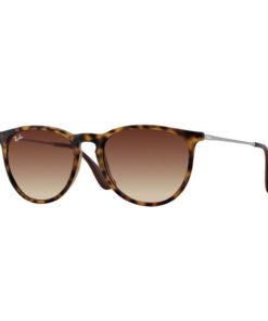 Ray-Ban Erika Classic Tortoise Gunmetal Sunglasses RB4171-865/13
