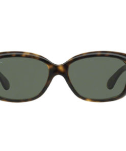 Ray-Ban Jackie Ohh Tortoise / Green Sunglasses RB4101-710-58