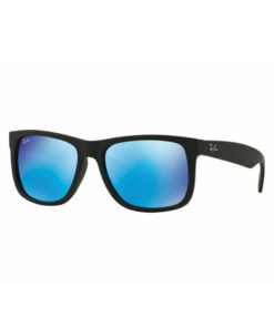 Ray-Ban Justin Color Mix Black Blue Mirror Sunglasses RB4165-622