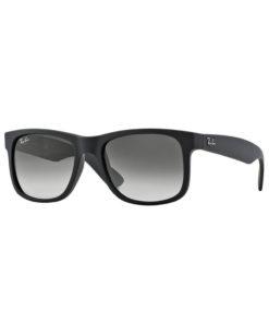 Ray-Ban Justin Classic Black Sunglasses RB4165-601-8G
