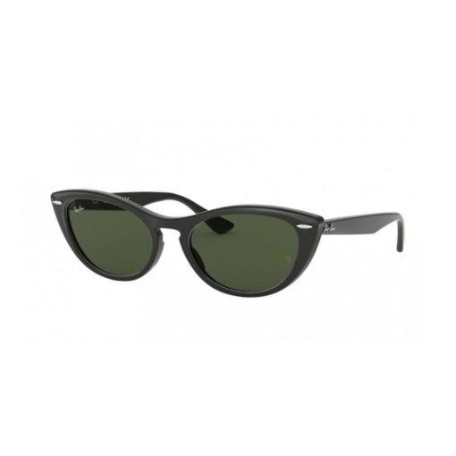 Ray-Ban Nina Black Green Sunglasses RB4314N-601/31