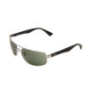 Ray-Ban RB3445 Gunmetal Black Sunglasses RB3445-004-61