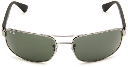 Ray-Ban RB3445 Gunmetal Black Sunglasses RB3445-004-61