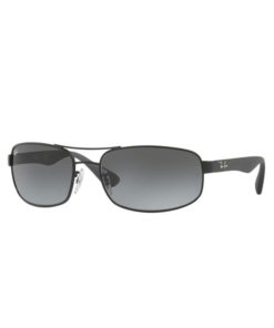 Ray-Ban RB3445 Black Grey Sunglasses RB3445-006-11