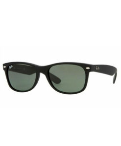 Ray-Ban New Wayfarer Classic Black / Green RB2132-622-55