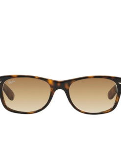 Ray-Ban New Wayfarer Flash Gradient Tortoise / Gold RB2132-710-51