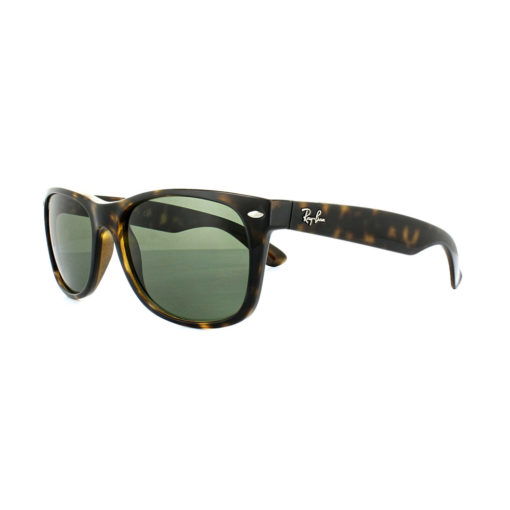 Ray-Ban New Wayfarer Classic Green / Tortoise Sunglasses RB2132-902