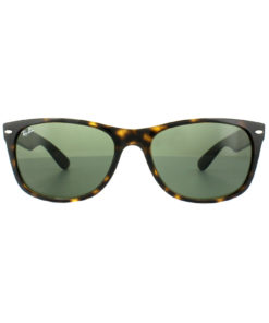 Ray-Ban New Wayfarer Classic Green / Tortoise Sunglasses RB2132-902