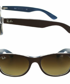 Ray-Ban New Wayfarer Bi Color Brown Gradient Sunglasses RB2132-61898552