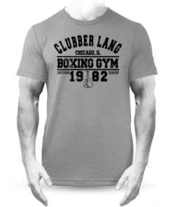 Clubber Lang Boxing Gym Rocky Balboa T-Shirt Grey