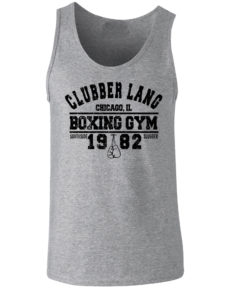 Clubber Lang Boxing Gym Rocky Balboa Vest Grey