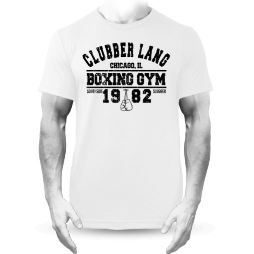 Clubber Lang Boxing Gym Rocky Balboa T-Shirt White