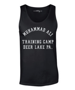 Muhammad Ali Deer Lake Training Camp Boxing Vest Black