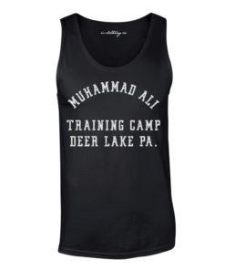 Muhammad Ali Deer Lake Training Camp Boxing Vest Black