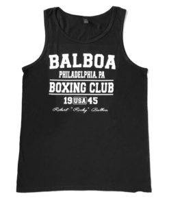 Balboa Boxing Club Vest Black