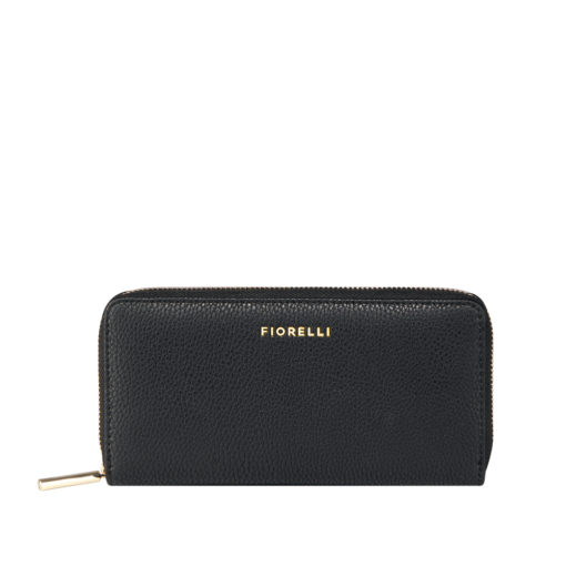 Fiorelli City Black Zip Around Purse