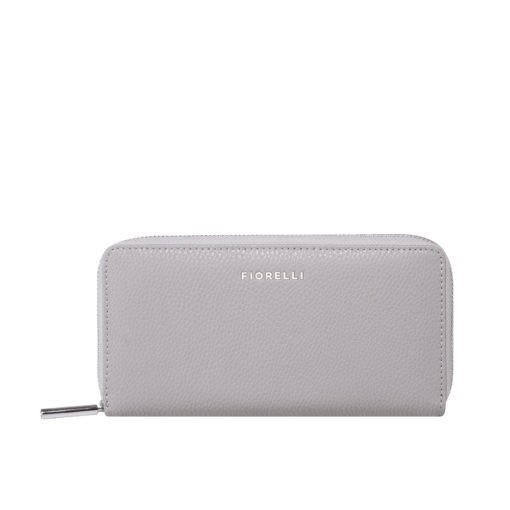 Fiorelli City Steel Zip Around Purse