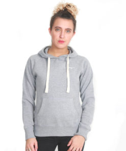 I.C.Clothing Scroll Pullover Hoody- Light grey