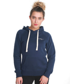 I.C.Clothing Scroll Pullover Hoody- Navy