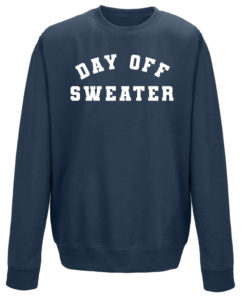 DAY OFF SWEATER LADIES CREW - NAVY