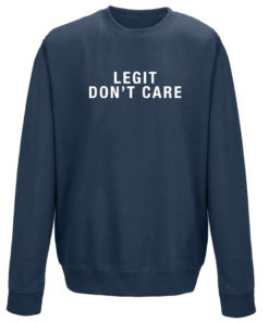 LEGIT DON'T CARE CREW - NAVY