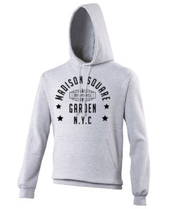 Madison Square Garden NYC Boxing Grey Premium Hoody