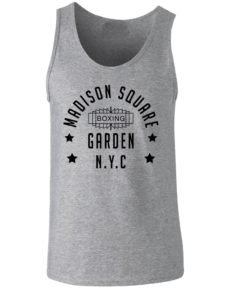 Madison Square Garden NYC Grey Training Boxing Premium Vest Tank Top