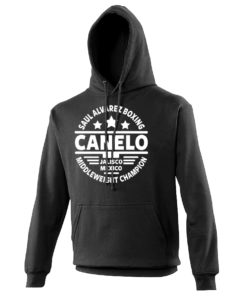 canelo black hoody