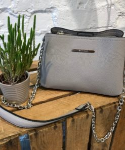 Bessie Grey Cross Body Bag - BH4315