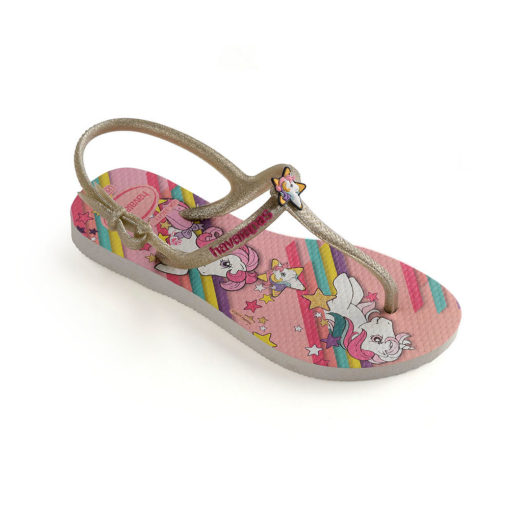 Havaianas Kids Freedom My Little Pony White Flip Flops