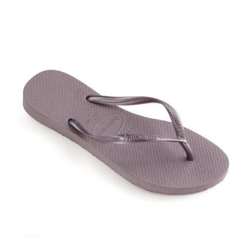 Havaianas Womens Slim lilac announce Flip flops