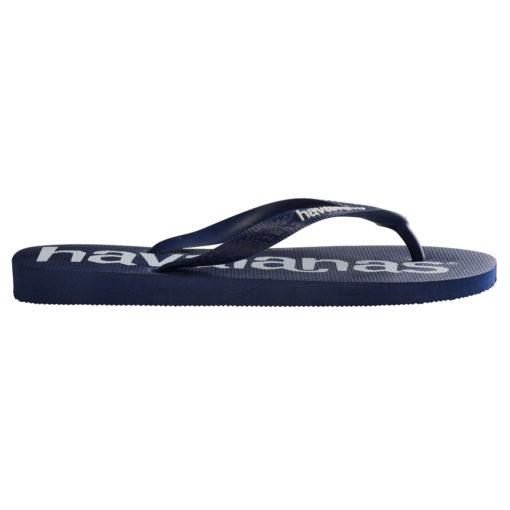 Havaianas Mens Top Logomania Navy Flip Flops
