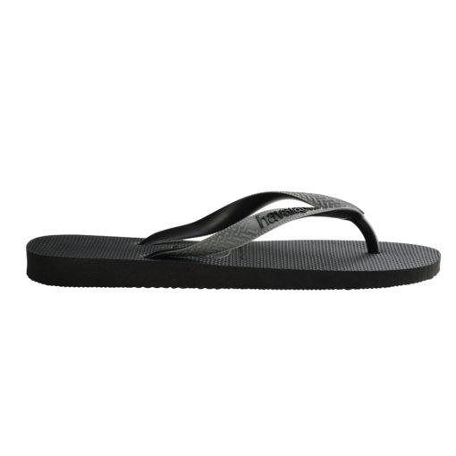 Havaianas Mens Top Mix Black/Steel Grey Flip Flops