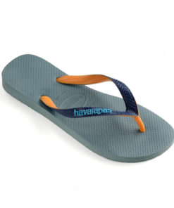 Havaianas Mens Top Mix Silver Blue Flip Flops