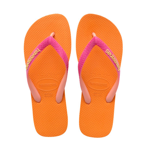 Havaianas Womens Top Mix Vibrant Orange Flip Flops
