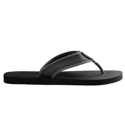 Havaianas Mens Urban Basic II Black Flip Flops