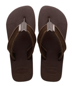 Havaianas Mens Urban Basic II Dark Brown Flip Flops