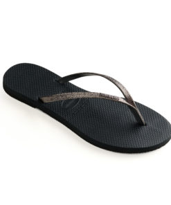 Havaianas Womens You Shine New Graphite Flip Flops