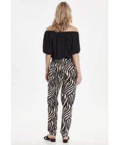 B-Young Isole Zebra Print Pants
