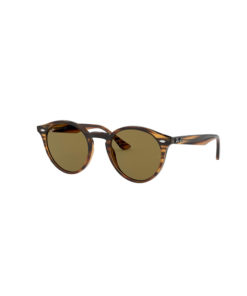 Ray-Ban RB2180 Striped Red Havana Sunglasses