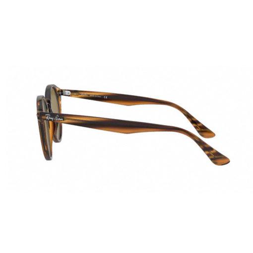 Ray-Ban RB2180 Striped Red Havana Sunglasses