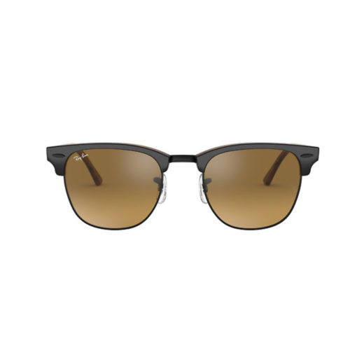Ray-Ban Clubmaster Classic Top Grey on Havana Sunglasses
