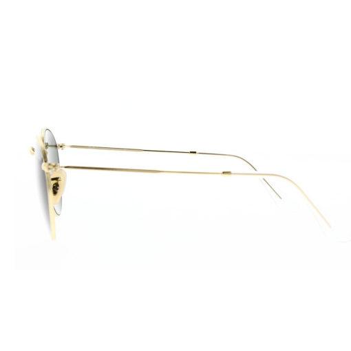 Ray-Ban Round Metal Gold Sunglasses