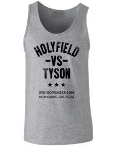 Holyfield V Tyson Boxing Vegas Grey Premium Vest/Tank Top