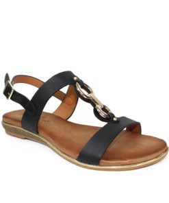 Lunar Maldives Black Sandal