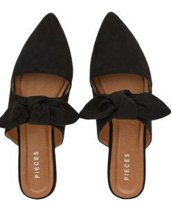 Pieces Naya Black Mules
