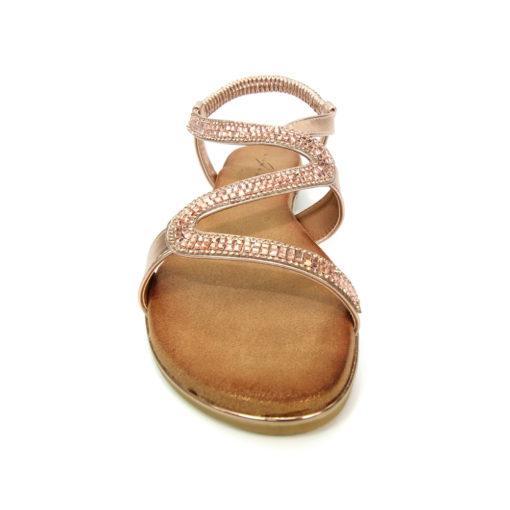 Lunar Emilia Rose Gold Sandal