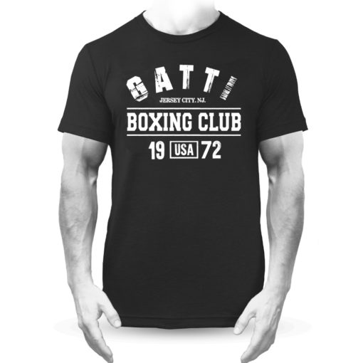 Gatti Boxing Club Black Premium Men's T-Shirt