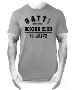 Gatti Boxing Club Grey Premium Men's T-Shirt